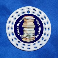 So Many Books So Little Time Porcelain Gift 3 Formats Reader Bookworm Librarian