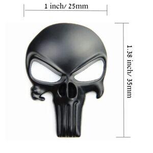 2pcs-Punisher-metal-badge-magwell-sticker-Metal-Decal-Sticker-3D-car-emblem