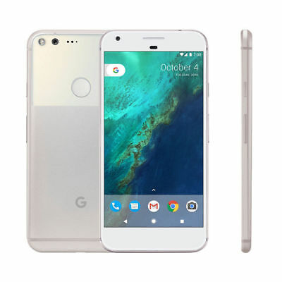 Google Pixel Black White Blue 32GB 128GB Android Unlocked Phone Pristine Boxed