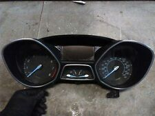 12 FORD FOCUS INSTRUMENT CLUSTER SPEEDOMETER TACH ODOMETER