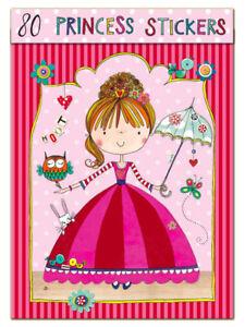 Pegatinas-para-Ninos-Princesa-by-Rachel-Ellen-chicas-fiesta-regalo-presente-Crafts