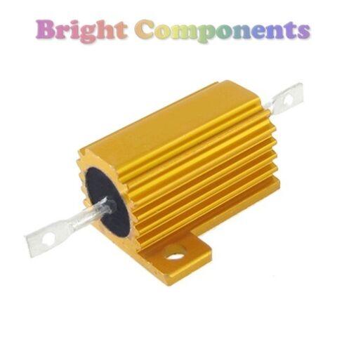 - 1st Class Post 220 OHM 10W ALLUMINIO placcati Power Resistore 220R