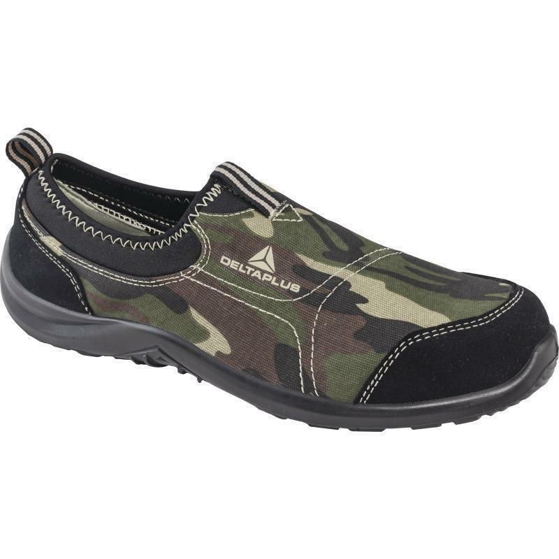 Delta Canvas,Metal plus MIAMI S1P safety shoes,Camoflague Camo Canvas,Metal Delta toe UK size 6 be0cd9