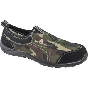 S1p Plus 1 Chaussures Delta toile en Miami taille camo camoflague de sécurité métal en bout tffqX