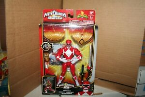 POWER RANGERS SUPER MEGAFORCE - ARMORED RED AND WHITE RANGERS - NEW SEALED
