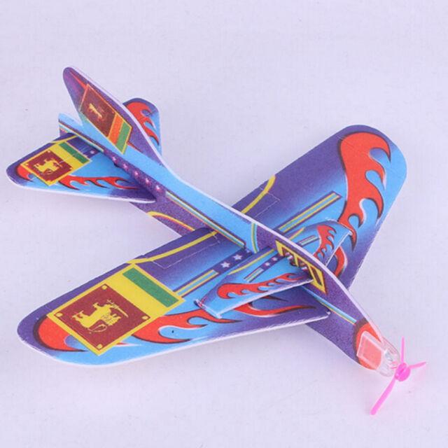 New Stretch Flying Glider Planes Aeroplane Children Kids Toys Game Cheap Gift FR