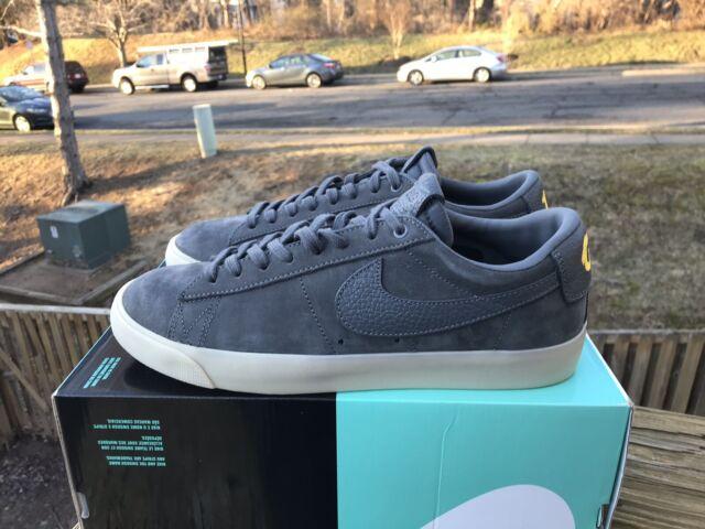 watch 7123a b699e Nike SB Zoom Blazer Low QS Grant Taylor Dark Grey/gum (aq9941 007) Men's 9