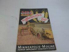 1946 Minneapolis Moline The Harvestor 69 Brochure