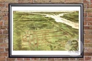 Details about Vintage Alexandria, VA Map 1890 - Historic Virginia Art on recreational map of va, political map of va, geological map of va, railroad map of va, driving map of va, county map of va, physical map of va, municipal map of va, topographical map of va,