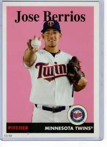 Jose Berrios 2019 Topps Archives 5x7 #46 /49 Twins