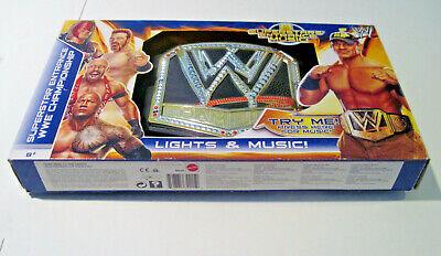 WWE Superstar Entrance Championship ELECTRONIC Belt Lights Music New Wrestling
