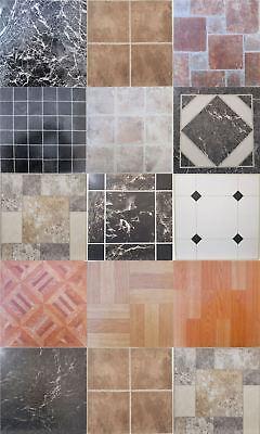 Vinyl Floor Tiles Squares Tile Self Adhesive Easy To Fit Various Design Sconti Prezzo