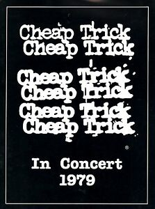 CHEAP-TRICK-1979-DREAM-POLICE-TOUR-CONCERT-PROGRAM-BOOK-BOOKLET-NMT-2-MINT