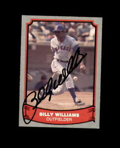 Billy-Williams-Hand-Signed-1988-Pacific-Baseball-Legends-Chicago-Cubs-Autograph