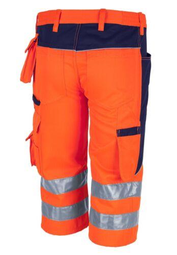 QUALITEX Pro MG 245 Warnschutz Short Cargo kurze Hose zwei Farben Gr 42-64 NEU