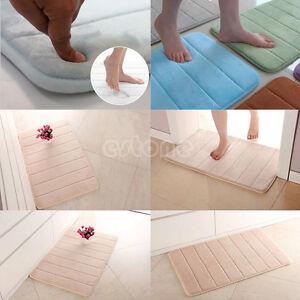 40-60cm-Memory-Foam-Bath-Mats-Bathroom-Horizontal-Stripes-Rug-Non-slip-Bath-Mats