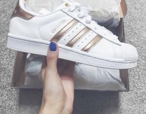 fa2d4784f21db Image is loading ADIDAS-ORIGINALS-SUPERSTAR-WHITE-METALLIC-COPPER-ROSE-GOLD-