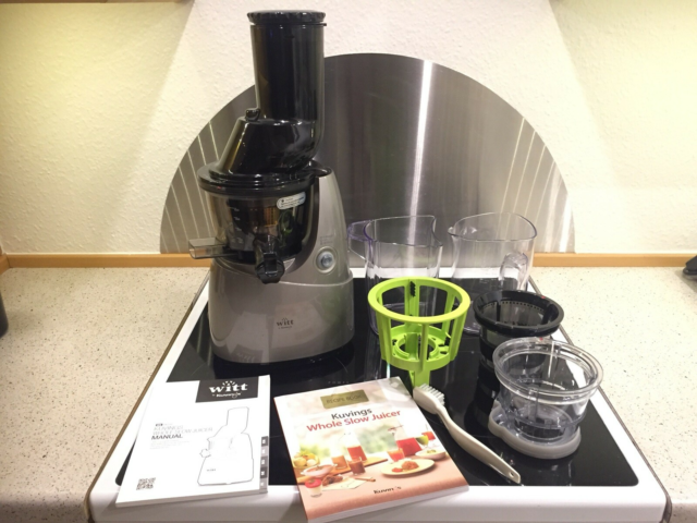 Slow juicer, Witt by Kuving B6100S inkl. smoothie- &…