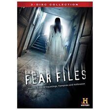 Fear Files (DVD, 2013, 3-Disc Set)