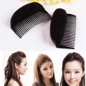 Bun Hair Puff Bump Magic 8cm Shaper Foam Comb Slide Fashion Styler Holder YS