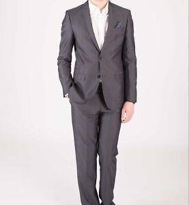 Aus Dem Ausland Importiert Men's Harry Brown 2 Piece Grey Tailored Fit Suit . 38l Sample 3545 Zu Den Ersten äHnlichen Produkten ZäHlen