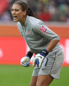 399754a22a8 USA Girls Soccer Goalie HOPE SOLO Glossy 8x10 Photo Olympics Print ...