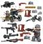 8pcs-set-DE-Militaer-Soldaten-mit-Waffen-Bausteine-Bricks-WW2-Mini-Armee-Figuren Indexbild 6
