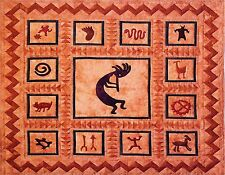 KOKOPELLI #4  MOUSE PAD  IMAGE FABRIC TOP RUBBER BACKED