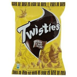 Details about Malaysia TWISTIES CORN SNACK 15g 9/12 PACKS BBQ CURRY FLAVOUR  Best Selling