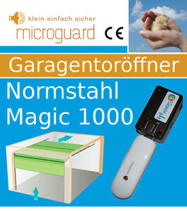 smartphone handy fernbedienung f r garagentorantrieb normstahl magic 1000 ebay. Black Bedroom Furniture Sets. Home Design Ideas