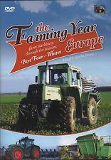 DVD: THE FARMING YEAR EUROPE: Farm Machinery Through The Seasons Part 4 Winter