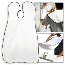 Beard Catcher Cape Apron Shaving Groom Whiskers Bib Facial Hair Trimmings Sink