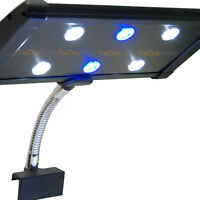 EVO Clip 3W Aquarium LED Light Flex Clamp Nano Marine Fish Coral 6x 3 Watts New