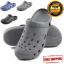 Mens-Clogs-Shoes-Garden-Water-Slip-On-Mule-Sandal-Rubber-Nurse-Outdoor-Classic thumbnail 1