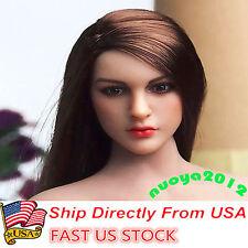 "KIMI TOYS 1/6 KT005 Female Head Sculpt Model  F/ 12"" HT VERYCOOL PHICEN Body USA"