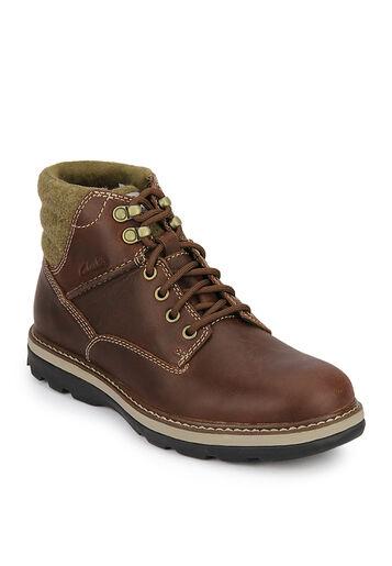 Clarks Herren Malvern Grat Stiefel Chestnut Kombi Trendy UK 7,8, 9,10