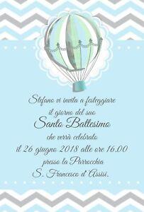Partecipazioni Personalizzate Battesimo Inviti Nascita Biglietti