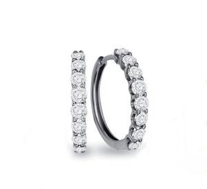 Ohrringe-Creolen-Diamanten-Brillanten-18K-Weissgold-0-50-Karat-Wesselton-weiss