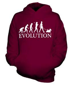 SCOTTISH-TERRIER-EVOLUTION-HUND-KINDER-KAPUZENPULLOVER-HOODIE-JUNGEN