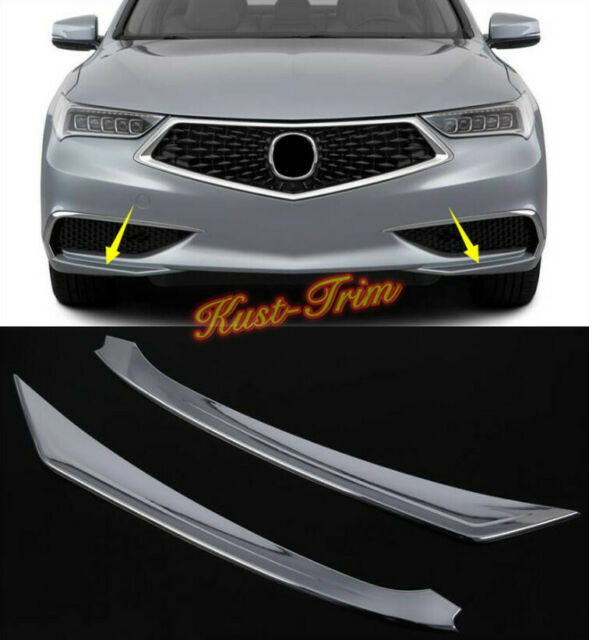 FIT For Acura TLX 2018-2020 ABS Chrome Front Bumper Front
