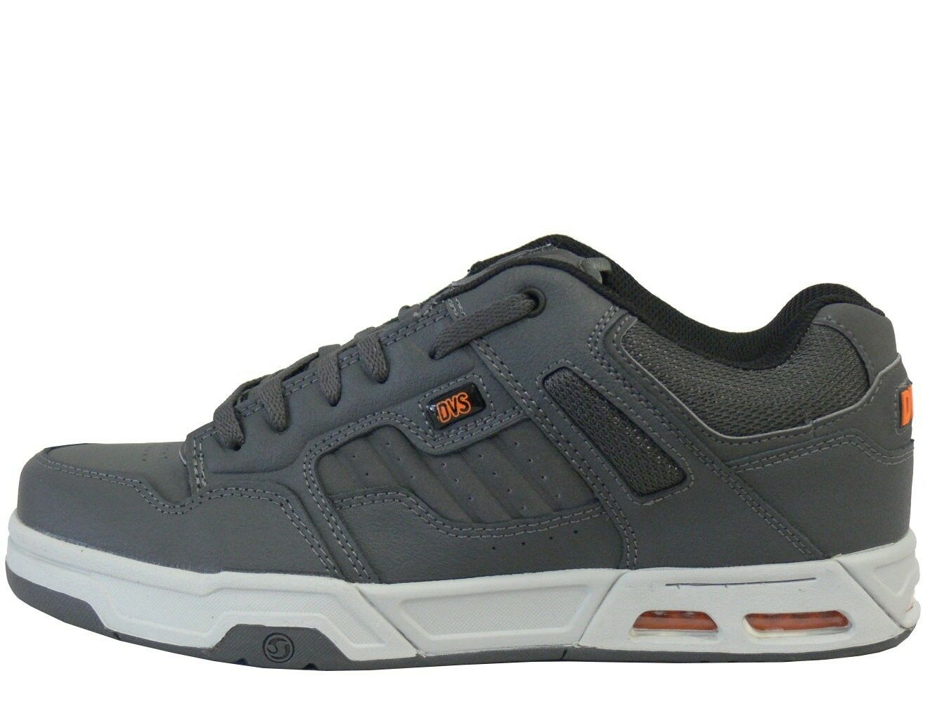 Venta de liquidación de temporada DVS enduro vivir de las ventas Grey Orange artillera skate zapatos talla 42 - 48,5