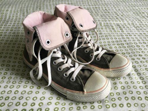 Converse All ginnastica 36 Fold Uk High da scarpe Over rosa 4 Eur 5 top Kaki Star taglia rrndvqU