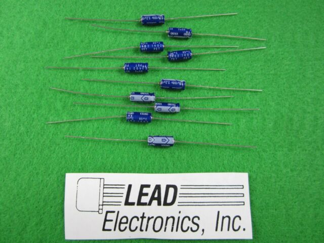 Nichicon Elko Kondensator axial  TVX1C221MAD  220uF 16V  8x16mm   #BP 1 pc