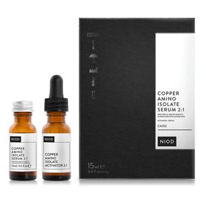 NEW-NIOD-Copper-Amino-Isolate-Serum-2-1-CAIS2-15ml-Womens-Skin-Care