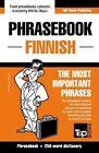 English-Finnish Phrasebook and 250-Word Mini Dictionary by Andrey Taranov (Paperback / softback, 2015)