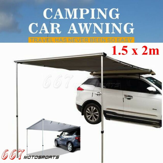 1.5x2m Car SUV Side Awning Rooftop Tent 4X4 Outdoor Tent For Jeep Off-Road 2020