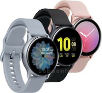 Samsung Galaxy Active2 40mm Bluetooth Smartwatch with Enhanced Sleep Tracking Analysis (Aluminum, Aqua Black)