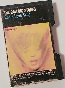 The Rolling Stones Goats Head Soup Cassette Tape Pink 1973 Promotone Slide Case
