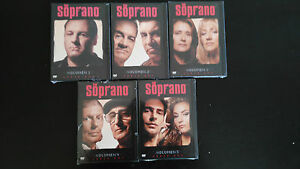 Details about THE SOPRANOS SEASON 2 - 10 EPISODES 5 DVD NEW SEALED NEW  SEALED