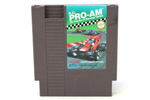 Vintage 1988 R.C. Pro-Am Racing Game Nintendo NES Cartridge Rare Ltd